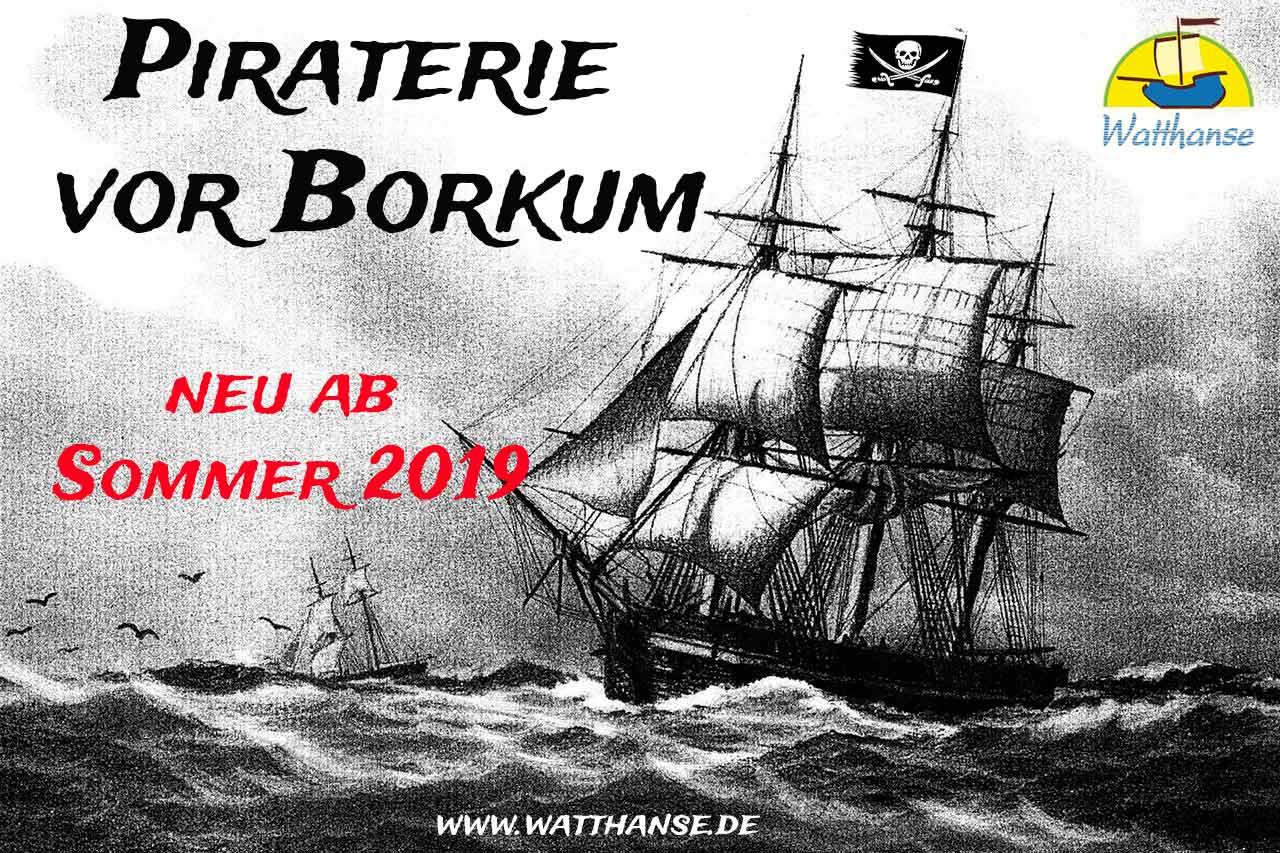 Historische Themenführung - Piraterie vor Borkum